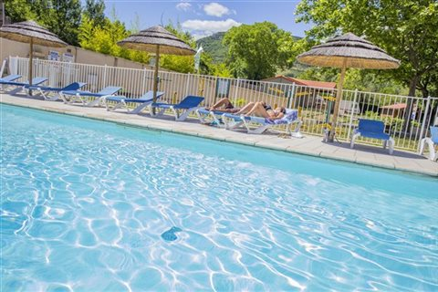 Piscine chauffee Camping les 2 Vallees