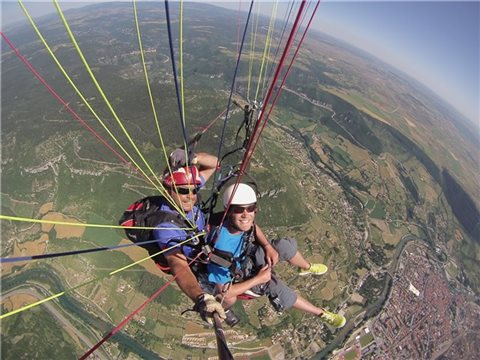 vol biplace parapente
