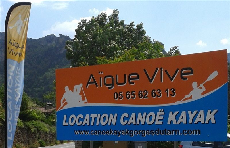 Aigue vive gorges du tarn